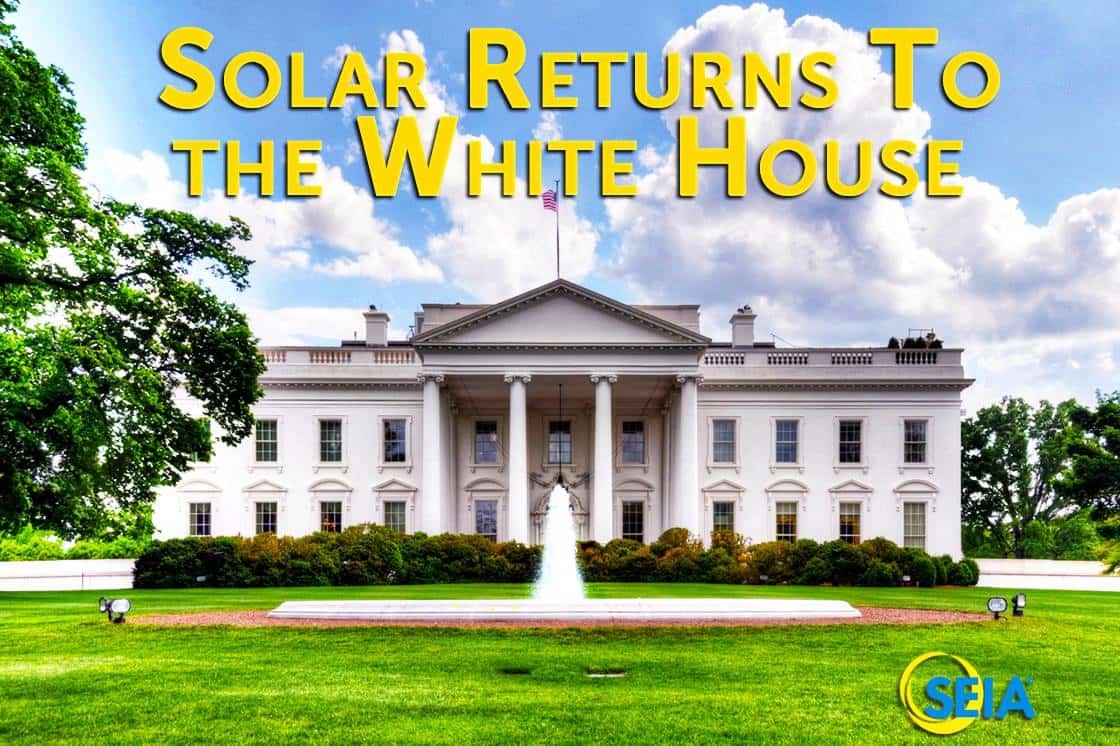 Solar on the White House