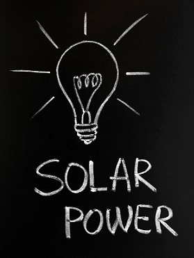 Solar power: a bright idea