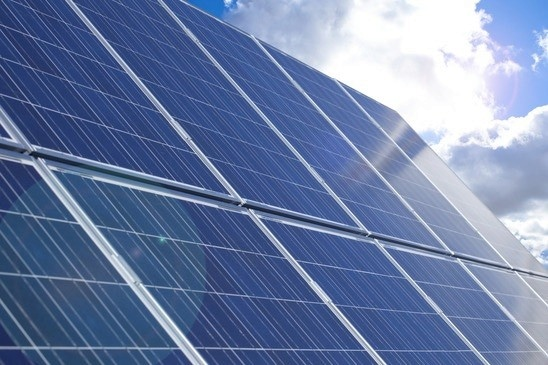 Photovoltaic solar panels directly produce electricity from sunlight.
