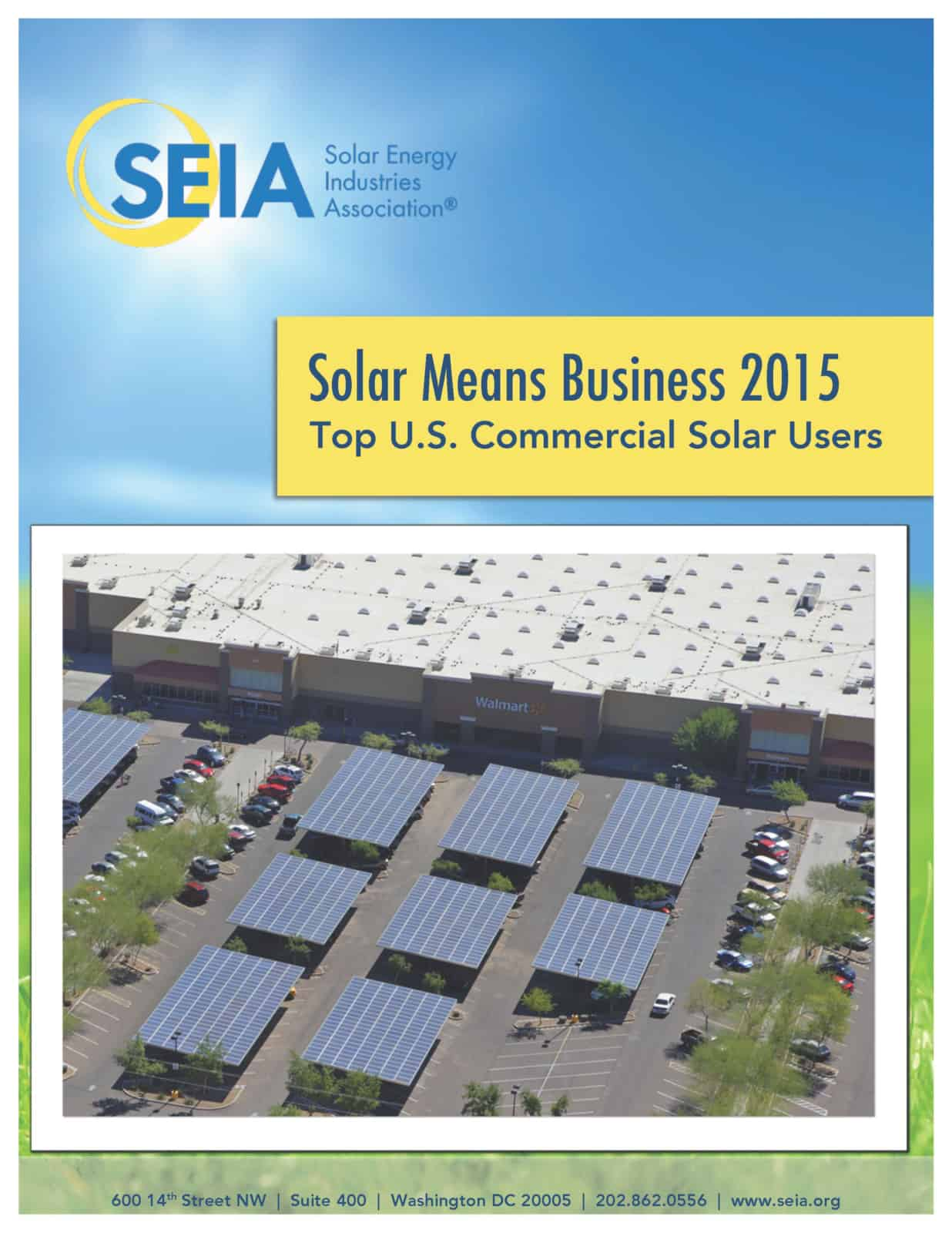 Solar Means Business 2015 Top Us Corporate Users Seia Ford Panel Roof Download Report