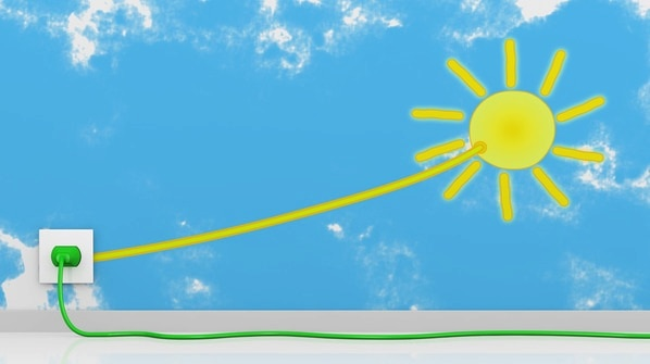 Energia solar fotovoltaica - energia elétrica a partir de luz solar
