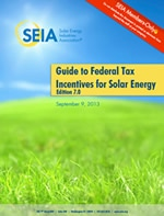SEIA Guide to Federal Tax Incentives for Solar Energy