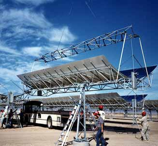 Building utility-scale solar power plants often requires significant planning for species' habitat conservation.