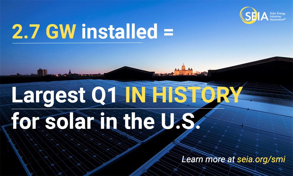 U S  Solar Market Insight | SEIA