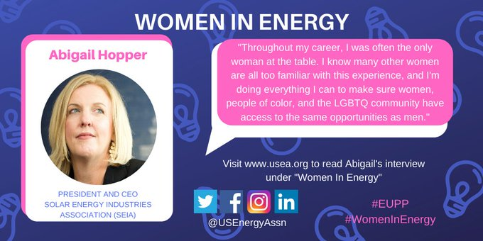 abby hopper women in energy USEA