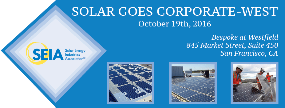 Solar Goes Corporate
